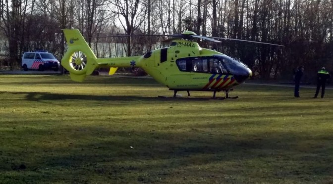 Lifeliner landed in Hoofddorp [video]